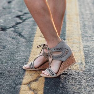 Stitch Fix Dolce Vita Loraine Ghillie wedge heels